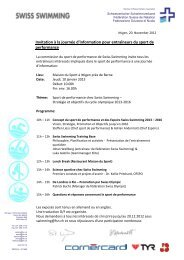 Invitation à la journée d'information pour entraîneurs du sport de ...