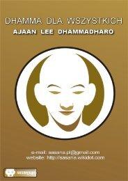 Dhamma dla wszystkich - DhammaTalks.net
