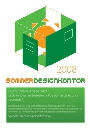Les brosjyren, med bilder fra tidligere prosjekter (pdf) - Arkitektur- og ...