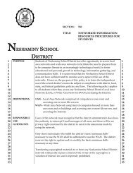 550 - Neshaminy School District