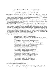 Status Report No. 1 2002 - Øresundsvandsamarbejdet