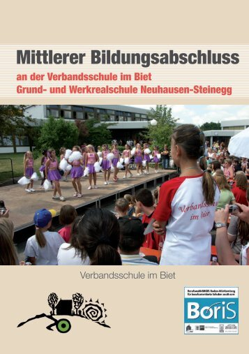 Flyer (pdf): Mittlerer Bildungsabschluss an der Verbandsschule im
