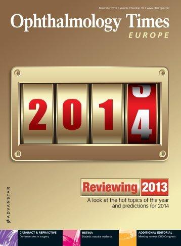 Reviewing 2013 - Advanstar Communications