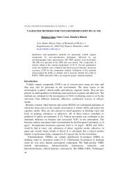 Gas chromatography-mass spectrometry assay method for the ... - ITIM