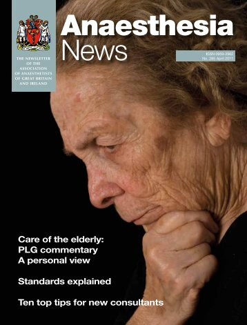 Care of the elderly: PLG commentary A personal view ... - aagbi