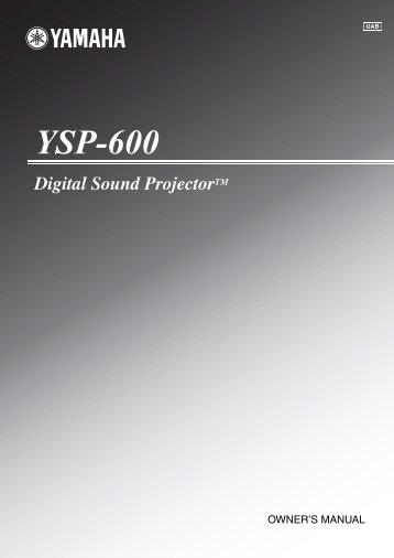 manual for yamaha ysp 800 digital sound projector rh yumpu com yamaha digital sound projector ysp-800 manual yamaha ysp 800 manual download