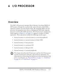 ADSP-21160 SHARC DSP Hardware Reference, I/O Processor