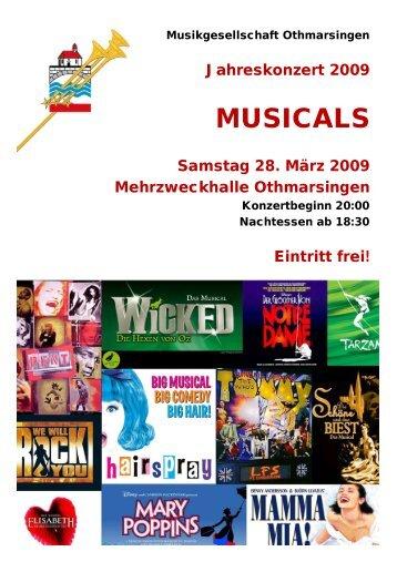 MGO Programm 2009 v0.6 - Musikgesellschaft Othmarsingen