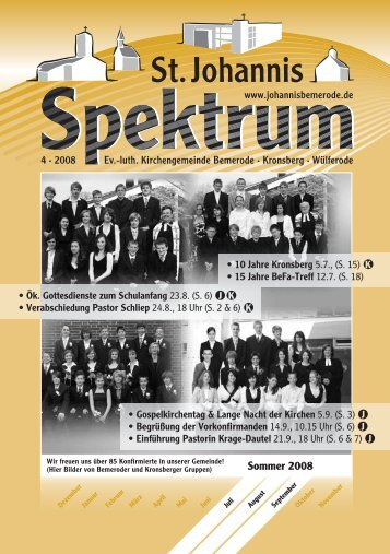 4 (Heft Jul. - Sep. 2008) - St. Johannis Bemerode