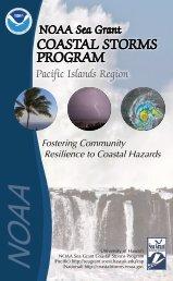COAStAl StOrmS prOGrAm - Sea Grant College Program