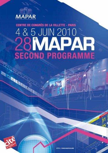 Programme du samedi 5 juin - Mapar