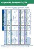 Programme du samedi 5 juin - Mapar - Page 6
