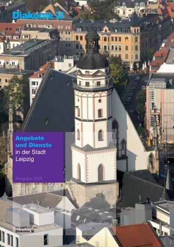 """E-Book der Broschüre """"Angebote und Dienste..."""" - Diakonie Leipzig"""