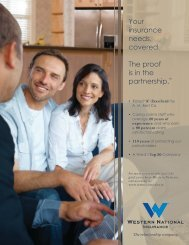 General brochure (couple and agent) - Western National Insurance ...