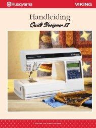 Leer uw Quilt Designer II kennen