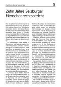 Salzburger - Plattform für Menschenrechte Salzburg - Seite 5