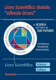 Alfredo Oriani - Liceo Scientifico