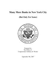 Many More Banks in New York City
