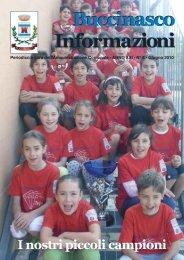 copertina buccinasco marzo 2010:Layout 1 - Comune di Buccinasco