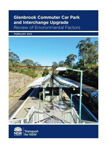 Glenbrook Sation REF (pdf 3.15MB) - Transport for NSW - NSW ...