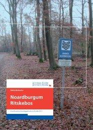 Gebiedsdossier Noardburgum.pdf - Provincie Fryslân