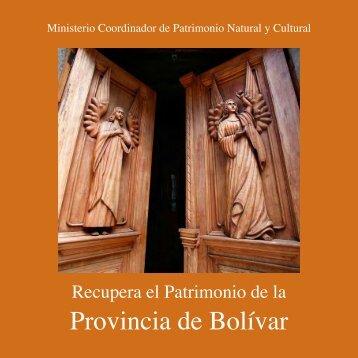 Provincia de Bolívar - Arqueología Ecuatoriana