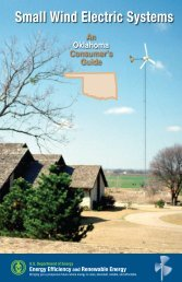 Small Wind Electric Systems: An Oklahoma Consumer's Guide