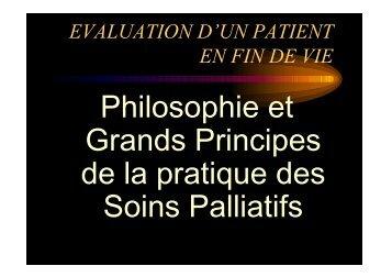 Soins palliatifs - les principes - ammppu