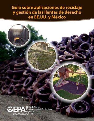 Guía sobre aplicaciones de reciclaje y gestión de las llantas - Texas ...