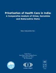 Privatisation of Health Care in India - Indian Institute of Public ...