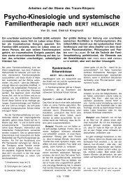Psycho-Kinesiologie und systemische Familientherapie ... - Cinak