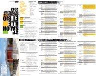 Le programme 2012 du Salon - Réseau Culture 21