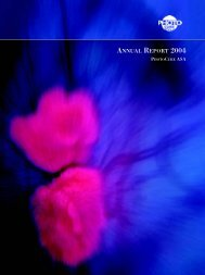 Annual Report 2004 - Photocure