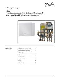 S-Solo Fernwärmekompaktstation für direkte Heizung und ...