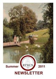 Chairman's Letter - The Royal Tunbridge Wells Civic Society