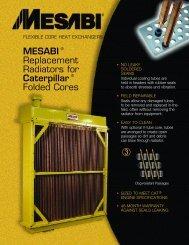 MESABI ® Replacement Radiators for ... - L&M Radiator Inc.