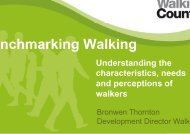 An Update on Developing this Measuring Tool PDF - Walk21