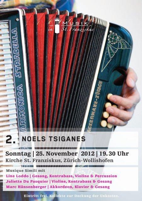 2. NOELS TSIGANES - Musik in St. Franziskus