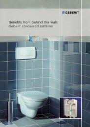 Geberit concealed cisterns - CreationsOmni.com