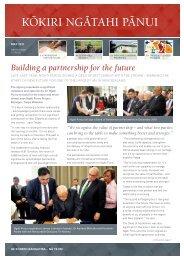 Kokiri Ngatahi Panui Issue 5 - May 2011