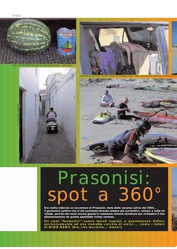 Ero molto indeciso se raccontare di Prasonisi, meta delle vacanze ...