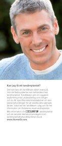 Låt inte livet gå dig förbi på grund av saknade tänder ... - Biomet 3i - Page 6