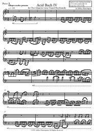 Page 1 { { { { { { Piano II Allegro molto pesante q = 120 f 5 8 11 ...