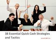 38 Essential Quick Cash Strategies and Tactics - mimosaPLANET