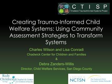 Creating Trauma-Informed Child Welfare Systems: Using ... - Pal-Tech