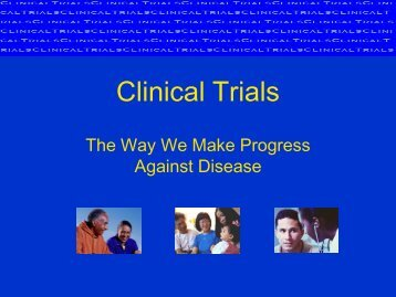 Clinical Trials - Caring for Carcinoid Foundation
