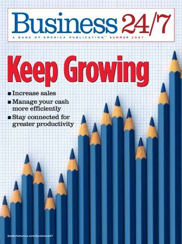 Keep Growing - Bank of America