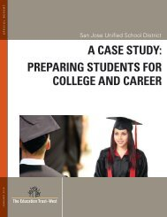 A CAse study: PrePAring students for College And CAreer - Achieve