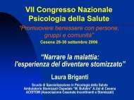 Diventare stomizzato - Associazione Emilia-Romagna Incontinenti e ...