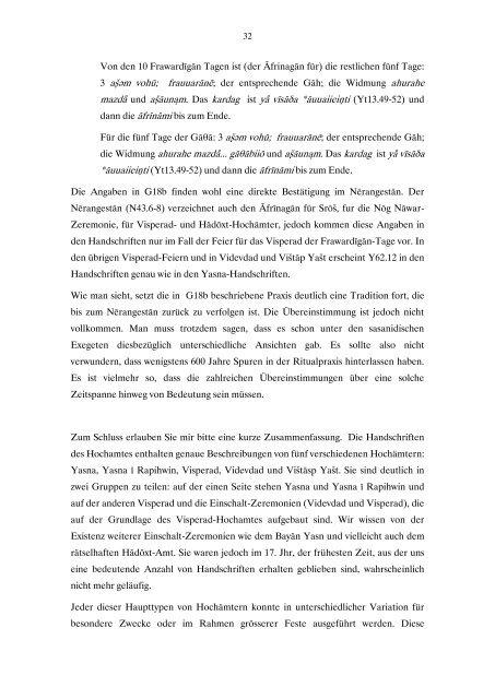 Die rituelle Mannifaltigkeit des Hochamtes in den Handschriften des ...